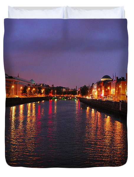 Dublin Nights Duvet Cover