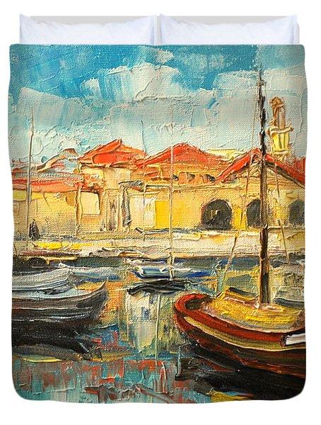 Dubrovnik - Croatia Duvet Cover