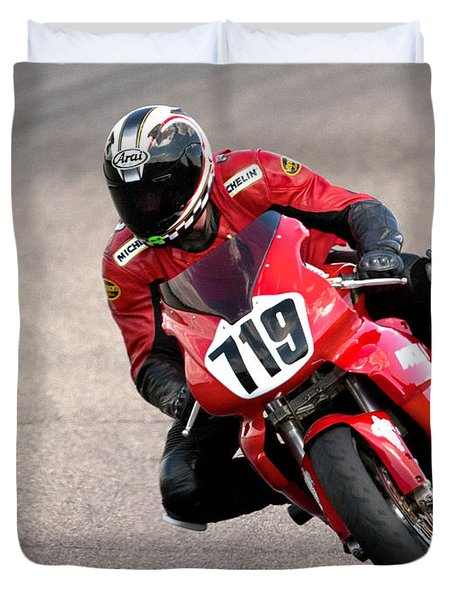 Ducati No. 719 Duvet Cover