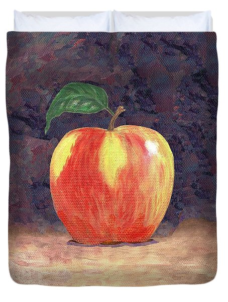 Duchess Apple Two Duvet Cover by Linda Mears