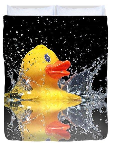 Yellow Duck Duvet Cover