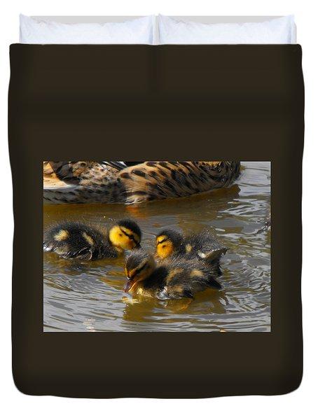 Duckling Splash Duvet Cover