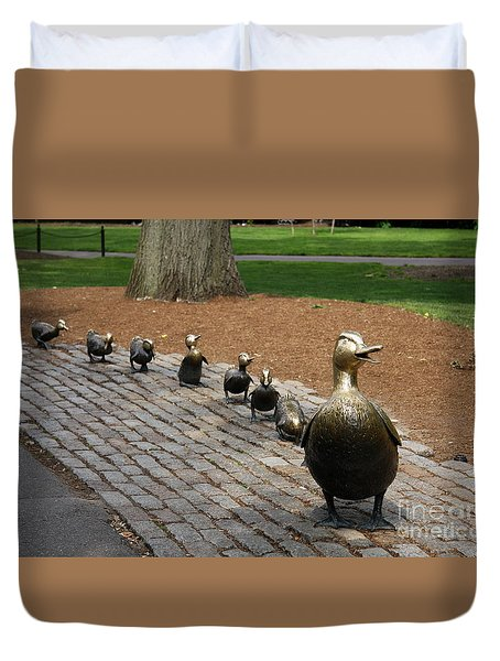 Ducklings Duvet Cover by Christiane Schulze Art And Photography