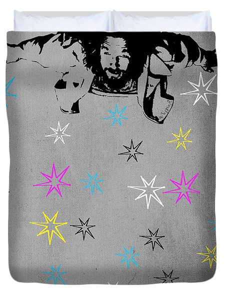 Dude I Want To Believe 3 Duvet Cover by Filippo B