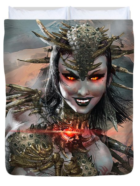 Duels Of The Planeswalkers 2014 Persona Ten Duvet Cover