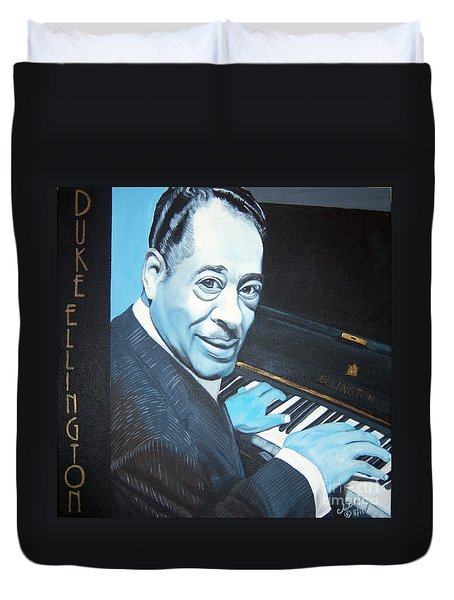 Duke Ellington Duvet Cover