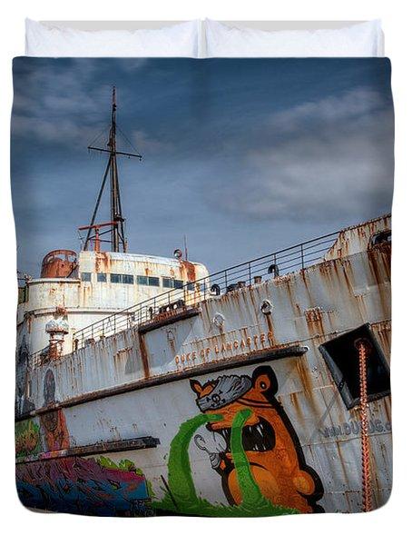 Duke Of Graffiti Duvet Cover