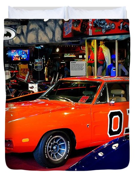 Dukes Of Hazzard Duvet Cover by Frozen in Time Fine Art Photography
