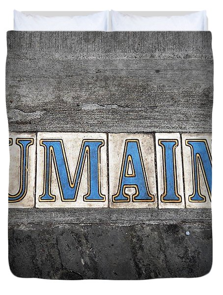 Dumaine Duvet Cover by Beth Vincent