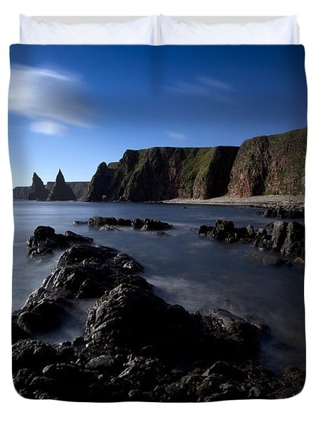 Duncansby Head Duvet Cover by Roddy Atkinson