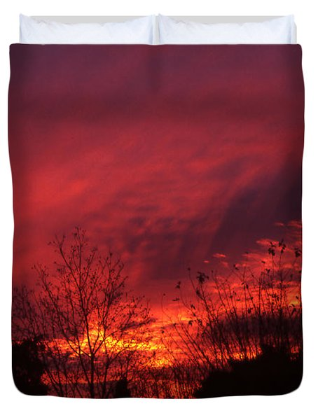 Dundee Sunset Duvet Cover