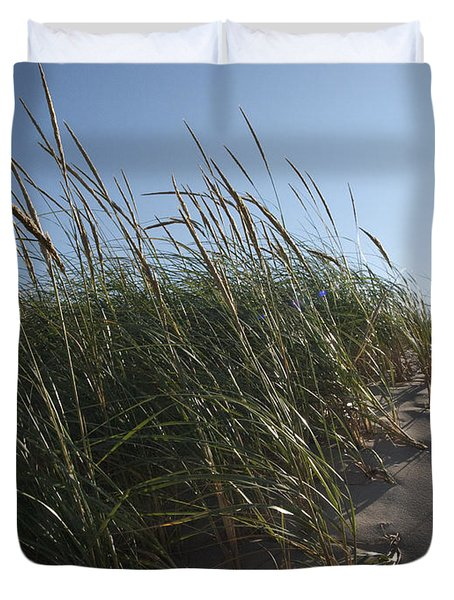 Dune Grass Duvet Cover by Tara Lynn
