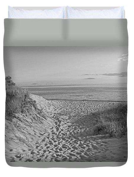 Dunes Walk Duvet Cover
