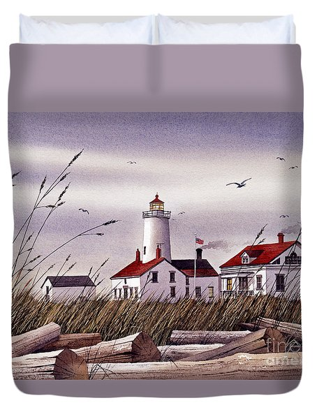 Dungeness Lighthouse Duvet Cover