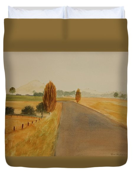 Dungog Area Nsw Australia Duvet Cover by Tim Mullaney