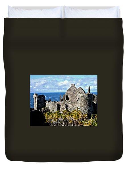 Dunluce Castle Duvet Cover