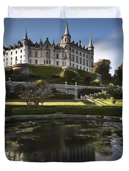 Dunrobin Castle Duvet Cover by Roddy Atkinson