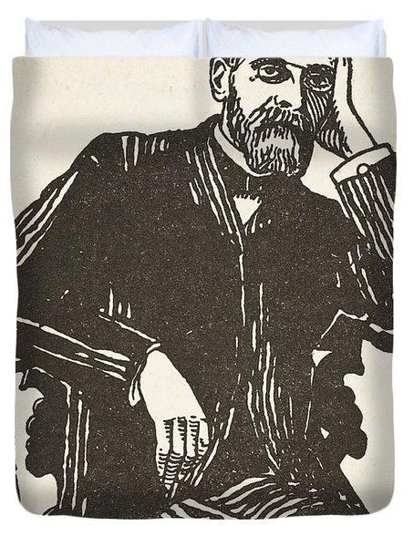 Emile Durkheim Duvet Cover