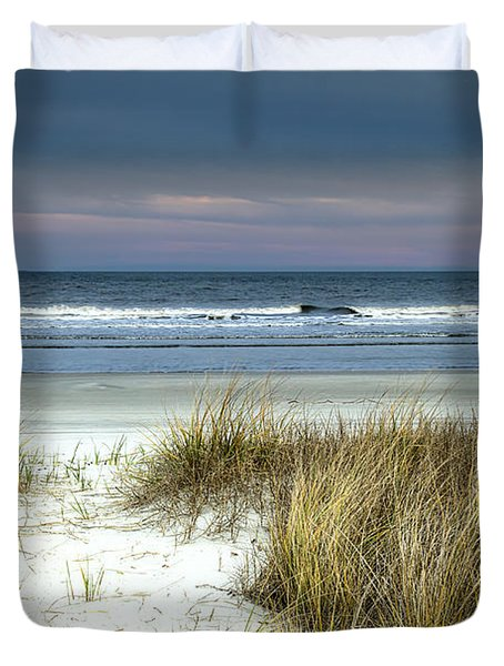 Dusk In The Dunes Duvet Cover