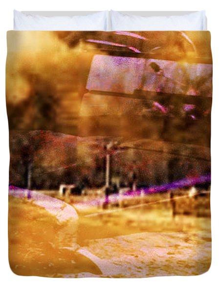 Dust Bowl Duvet Cover by Elizabeth McTaggart