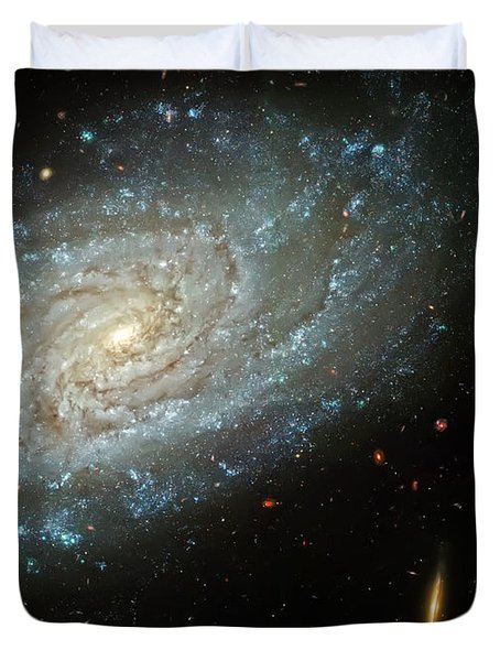 Dusty Galaxy Duvet Cover by Jennifer Rondinelli Reilly - Fine Art Photography