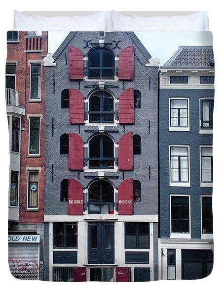 Dutch Canal House Duvet Cover