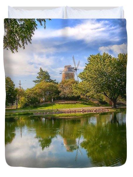 Dutch Mill  Duvet Cover by Liane Wright