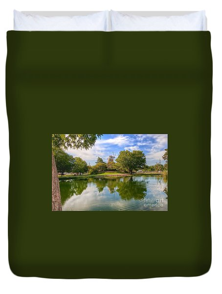 Dutch Mill  Duvet Cover