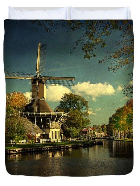 Dutch Windmill Duvet Cover