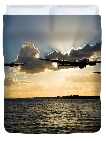 Duty Bound Duvet Cover