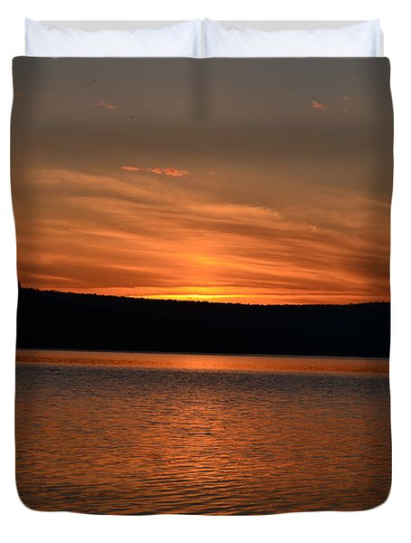 Dying Breath Of The Day Duvet Cover