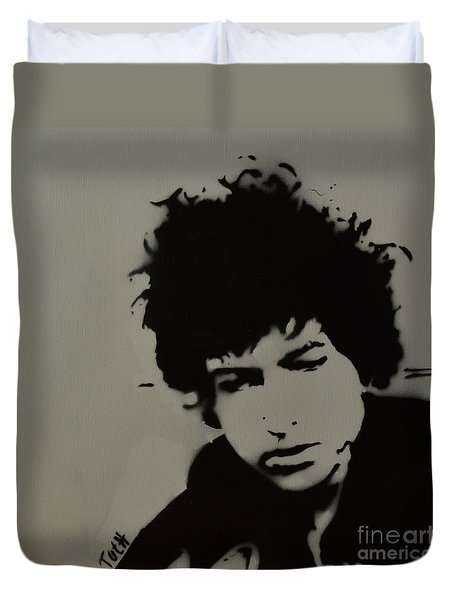 Dylan Spray Art Duvet Cover