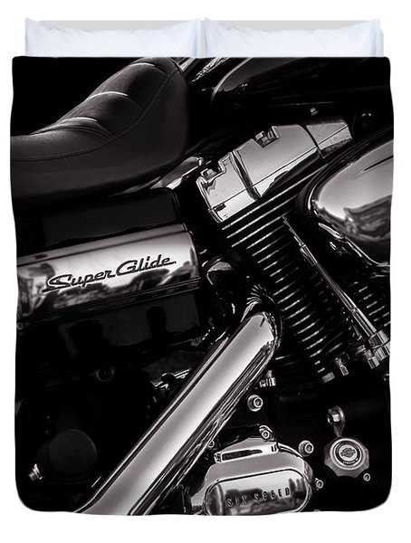 Dyna Super Glide Custom Duvet Cover