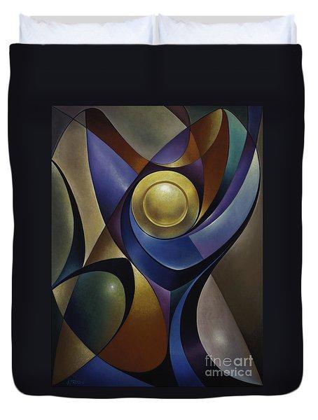 Dynamic Chalice Duvet Cover