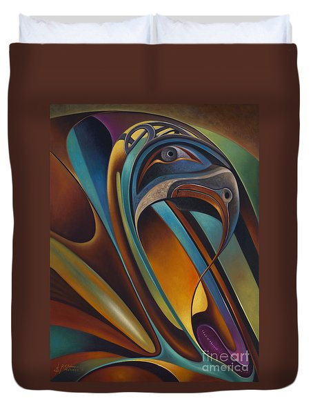 Dynamic Series #17 Duvet Cover