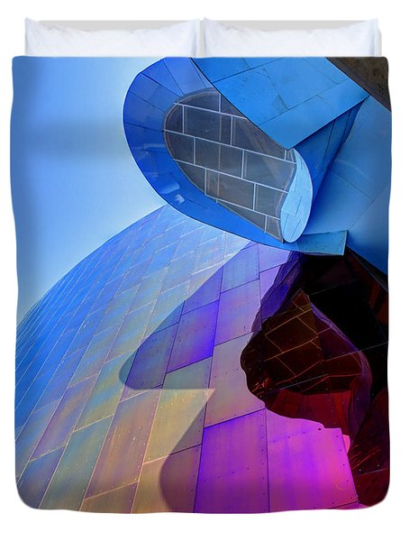 E M P Abstract Duvet Cover by Chris Anderson