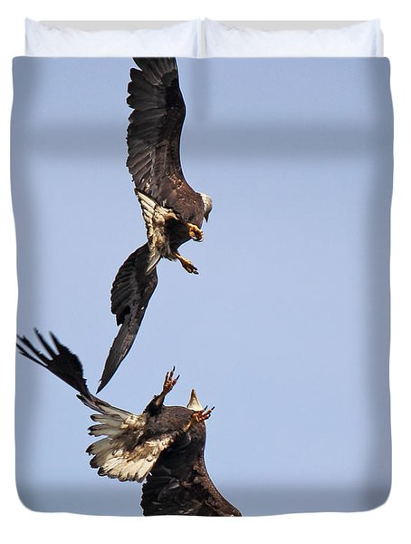 Eagle Ballet Duvet Cover