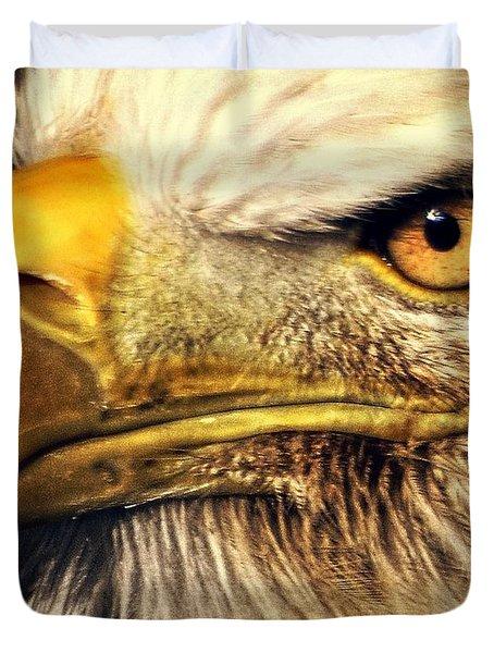 Eagle Eye 7 Duvet Cover by Marty Koch