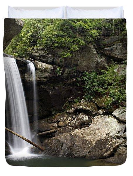Eagle Falls - D002751 Duvet Cover by Daniel Dempster