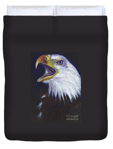 Bald Eagle - Francis -audubon Duvet Cover