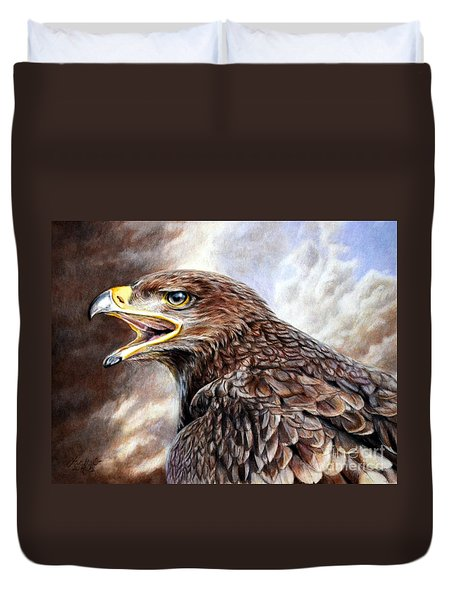 Eagle Cry Duvet Cover