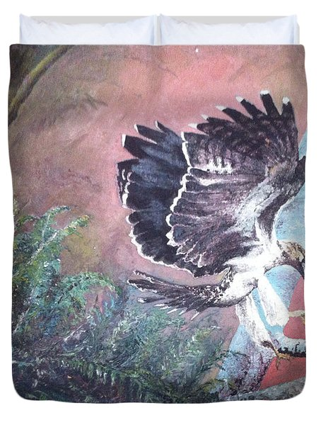 Eagle Light Duvet Cover