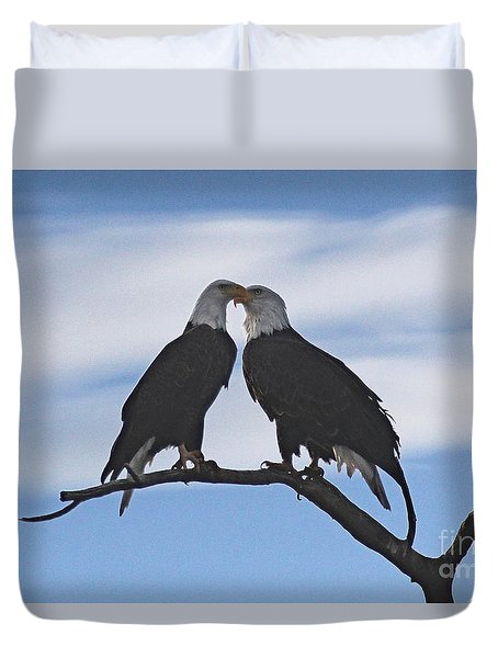 Eagle Love Duvet Cover