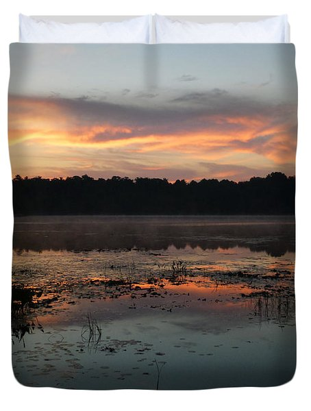 Eagle River Sunrise No.5 Duvet Cover