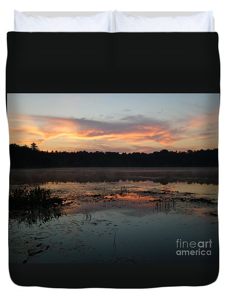 Eagle River Sunrise No.5 Duvet Cover