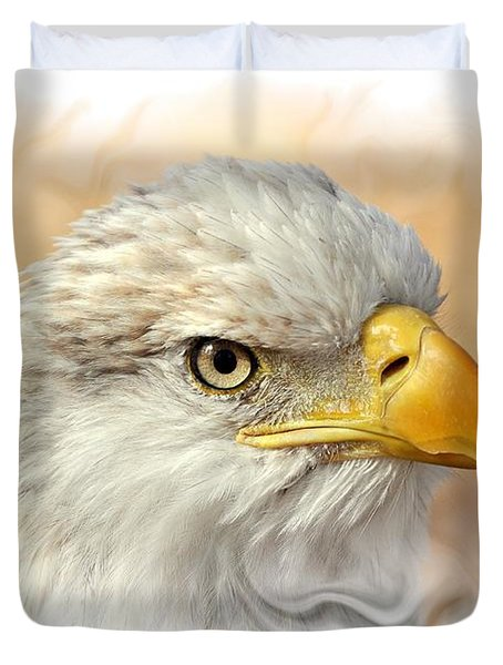 Eagle6 Duvet Cover by Marty Koch