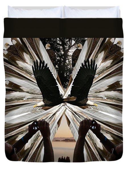 Eagle's Song Duvet Cover