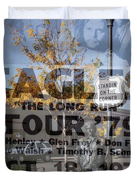 Eagles The Long Run Tour Duvet Cover