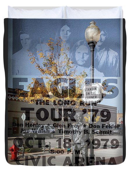 Eagles The Long Run Tour Duvet Cover