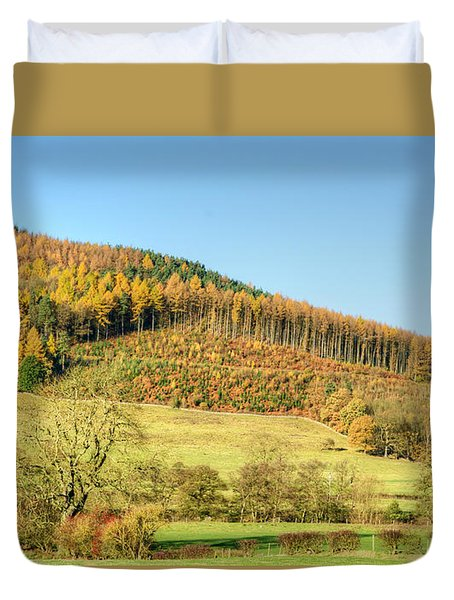 Early Autumn Duvet Cover by David Birchall